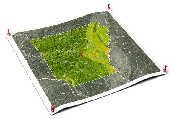 releve topographique