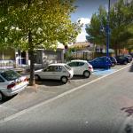 Montre un aperçu de la devanture du cabinet de géomètres Bbass à Bagnols sur Cèze